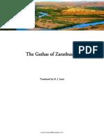 Gathas of Zarathushtra, tr. D. J. Irani