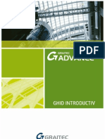 Advance Steel 2012 - Ghid Introductiv