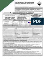 Msds Hidroxido de Amonio (Hoja de Seguridad)