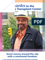 St. Luke's Hospital Transplant Program - English Poster
