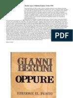 Bertini, Gianni - 1970 - Oppure