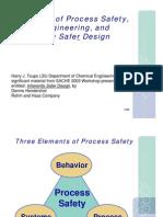 Inherently Safer Design