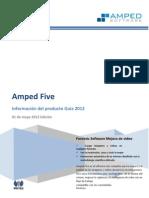 Amped Five 2012 Es