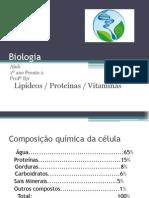 Slides Lipideos Proteinas e Vitaminas