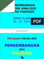 KULIAH pengembangan analisis 05122011
