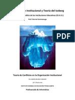 Organizacion Institucional y Teoria Del Iceberg