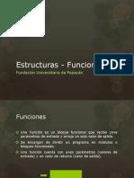 Estructuras - Funciones