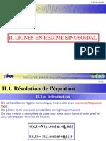 Ligne en Sinusoidal (Notion 2)