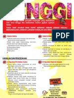 Poster Denggi Malay Language