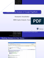 Google and the Page Algortimo