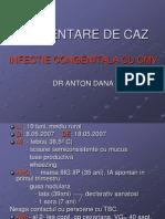 Prezentare de Caz - Retard Psihomotor-CMV