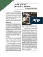 Comunicacion Humana en La Rel. Medico-pac. ARTICULO
