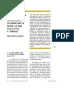 GALLART, Maria Antonia - La Investigacion en Formacion Profesional [PDF]