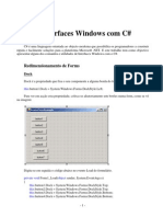Interfaces Windows Em c Sharp