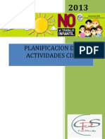 Planificacion de Actividades Cdi 2013