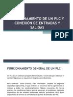 FUNCIONAMIENTO PLC Y CONEXIÓN ENTRADAS SALIDAS