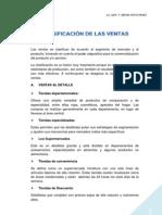S3 CLASIFICACIÓN DE LAS VENTAS
