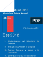 CP Defensa 2012