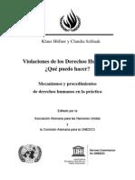 Violaciones de los Derechos Humanos - qué puedo hacer