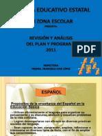 Analisis Del Plan y Programas de Estudio 2011