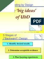 UBD Powerpoint Presentation