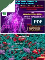 Trombopatias Exp