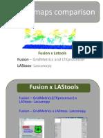 LiDAR Maps Comparison