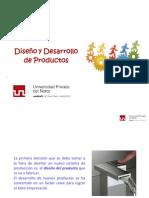 Clase N°02 Diseño y Desarrollo de Productos