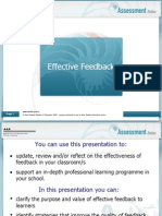 effective feedback nz ministry of education