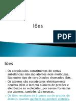 10 - Iões