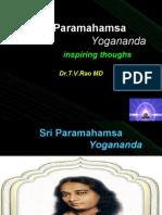 Sri  Paramahamsa Yogananda