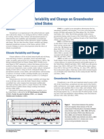 Effects of Climate Variability and Change on Groundwater Resources