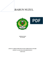 Cover Asbabun Nuzul