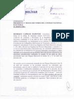 Carta al CNE - Solicitudes Administ. Auditoría