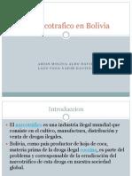 El Narcotrafico en Bolivia