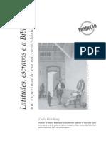 2007 Carlo Ginzburg - ArtCultura Vol 9 n 15