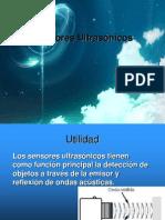 Sensores Ultrasónicos 2013-1