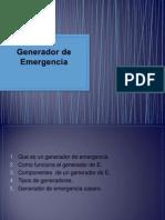 Generador de Emergencia