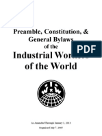 2013 IWW Constitution and Bylaws