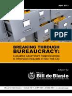 Breaking Through Bureaucracy