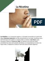 La Nicotina presentación editada