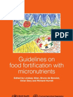 Guide Food Fortification Micronutrients