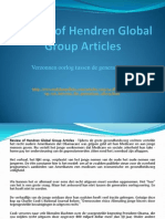 Review of Hendren Global Group Articles