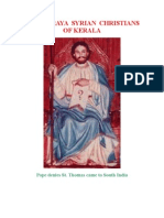 THE PARAYA SYRIAN CHRISTIANS OF KERALA