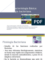 Unidad i Fisiologia Bacteriaa