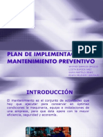 Plan de Implementacion de Mantenimiento Preventivo1