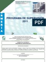 PROGRAMA DE SUPERVISIÓN 2011