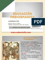 EDUCACIÓN PREHISPANICA