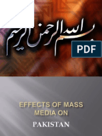 35775668 Role Effects Mass Media n Society or in Pakistan