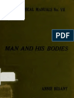 Man and His Bodies, Annie Besant 1917